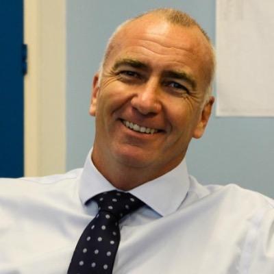 Foto von Mark Leppard MBE Schulleiter der britischen Schule von Al Khubairat in Abu Dhabi