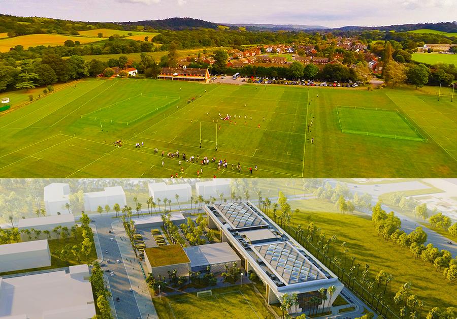 مقارنة بمدرسة Royal Grammar School Guildford في المملكة المتحدة ودبي من خلال موقع SchoolsCompared.com