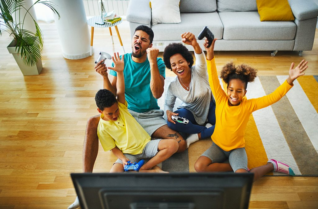 Screen time positives from parents