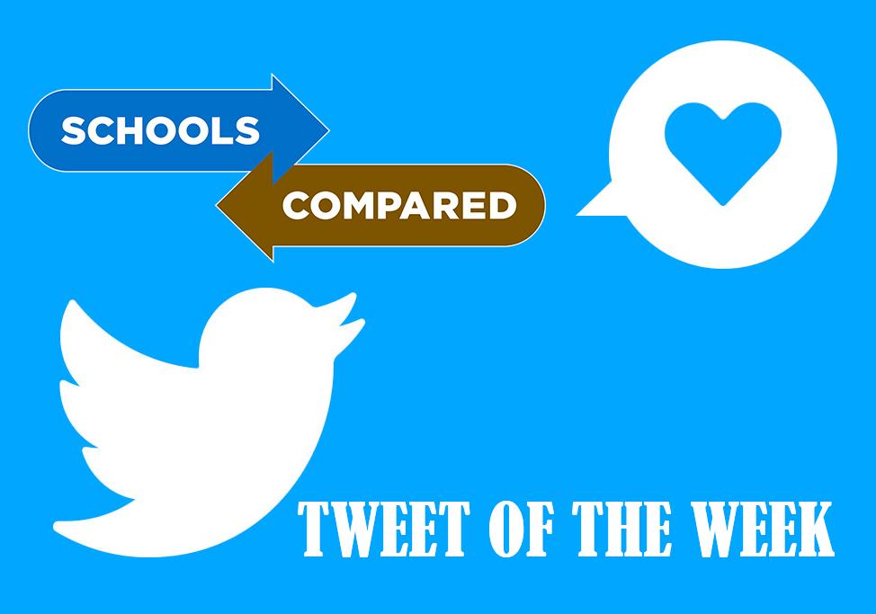 Tweet der Woche. Unser Blick auf den besten Tweet in der Bildung dieser Woche.