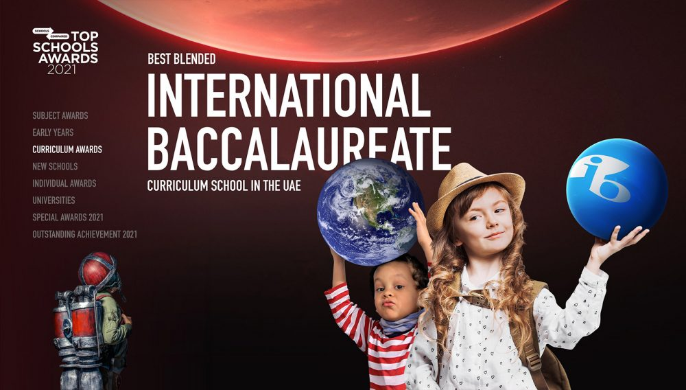 Best Blended International Baccalaureate Curriculum School in den Vereinigten Arabischen Emiraten 2021 Top Schools Awards Anmeldeformular