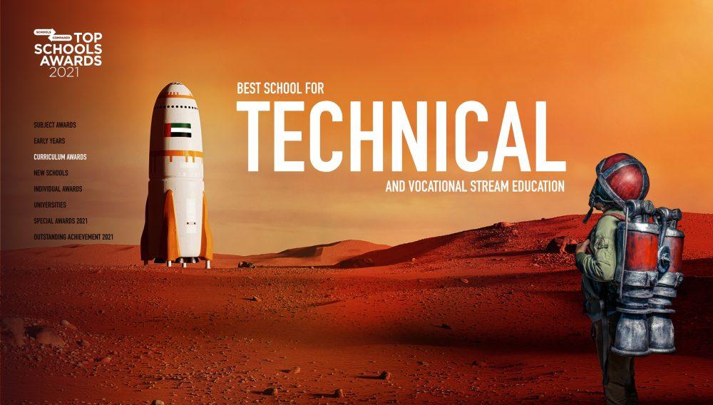 أفضل مدرسة في الإمارات العربية المتحدة لـ BTEC أو برنامج البكالوريا الدولية المرتبط بالوظيفة أو خيارات التعليم المهني الأخرى.