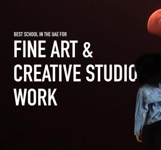 Teilnahme an den SchoolsCompared.com Top Schools Awards 2021 Award für die beste Schule in den VAE für bildende Kunst und kreative Studioarbeit