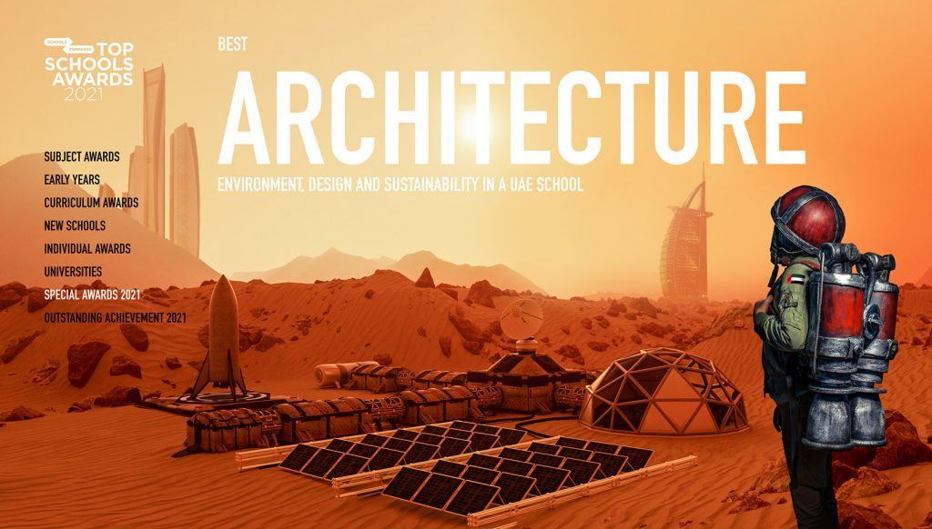 Top Schools Awards for Architecture 2021. Sustainability, Design, Environment. .