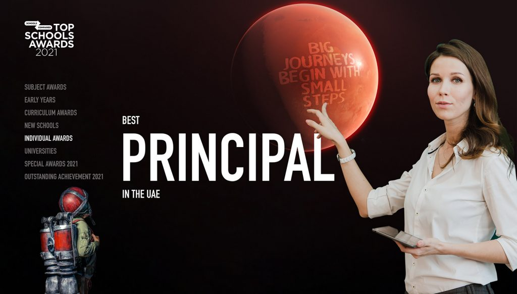 SchoolsCompared.com Top Schools Award for Best Principal in the UAE 2021