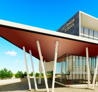 Die neue SCS Secondary School und das Sixth Form Center der Safa Community School in Dubai werden im September 2022 eröffnet opening