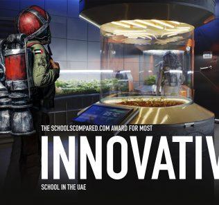 جائزة SchoolsCompared.com لأفضل المدارس للمدرسة الأكثر إبداعًا في الإمارات 2021