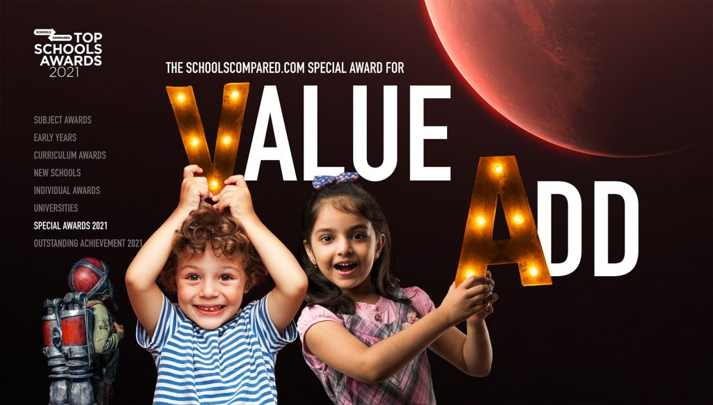 The SchoolsCompared.com Top Schools Award for Value Add and Leaving No Child Behind 2021 Entry Form