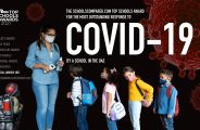 Top Schools Awards 2021 Hervorragendste Antwort auf Covid-19 in einem Schuleintrittsformular für die VAE