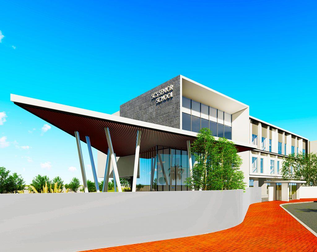 تتميز العمارة البحرية في الرؤية المعمارية الراديكالية ، بإيماءة واحدة إلى تاريخ دبي ، في مدرسة SCS الثانوية ومركز Sixth Form Center في دبي - المدرسة الثانوية الجديدة لمدرسة الصفا المجتمعية التي سيتم افتتاحها في سبتمبر 2022
