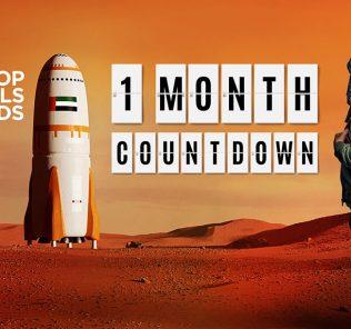 Top Schools Awards 2021 Countdown - 1 Monat Countdown