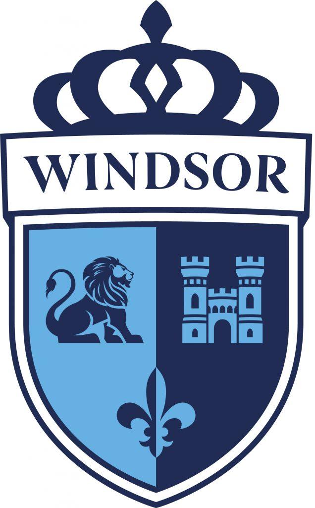 Offizielles Schullogo zur Eröffnung der Windsor School in Satwa Dubai