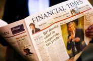 Photograph of the Financial Times Broadsheet FT London apprenticeships, placements, internships