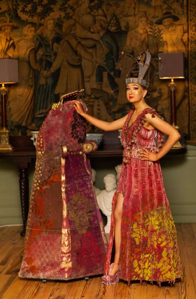 Multi disciplinary Engineering and Wood Work students make powerful contributions to design in Junk Kouture
