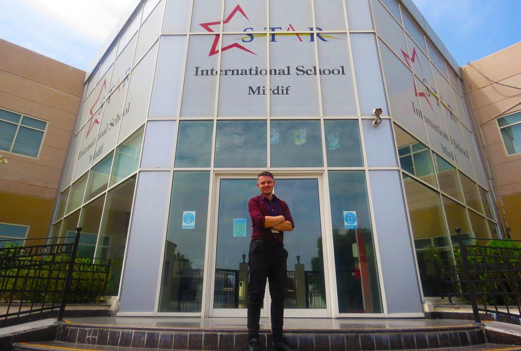 Mr Kyle World Teacher Day at Star International School Mirdif Dubai